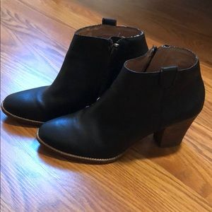 Madewell billy booties - size 8